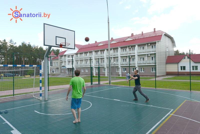 Санатории Белоруссии Беларуси - санаторий Сосны - Спортплощадка