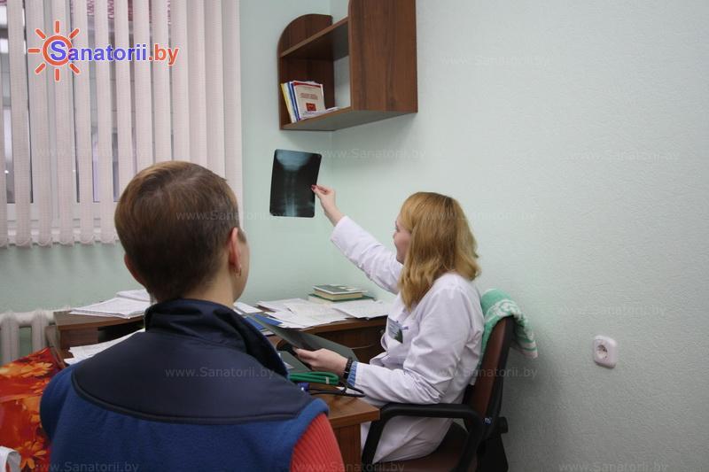 Санатории Белоруссии Беларуси - санаторий Сосны - Кабинеты профильных специалистов