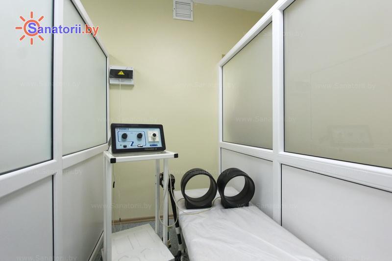 Санатории Белоруссии Беларуси - санаторий Сосны - Магнитотерапия