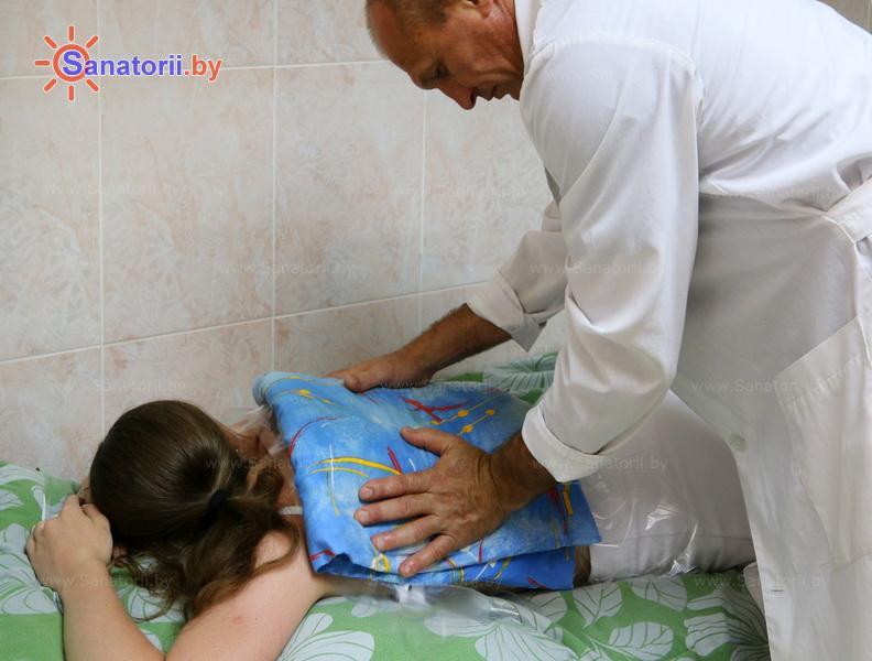 Санатории Белоруссии Беларуси - санаторий Сосны - Озокерито-парафинолечение