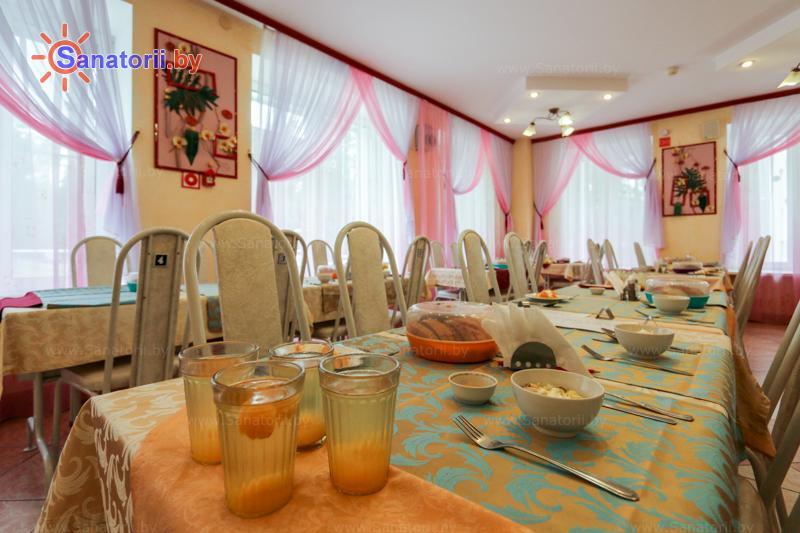 Санатории Белоруссии Беларуси - санаторий Сосны - Столовая