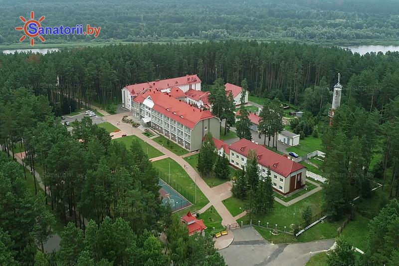Санатории Белоруссии Беларуси - санаторий Сосны - Территория и природа