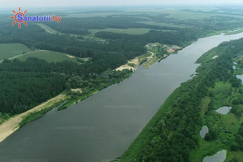 Санатории Белоруссии Беларуси - санаторий Сосны - Водоём