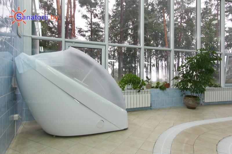 Санатории Белоруссии Беларуси - санаторий Спутник - Ванна сухая углекислая