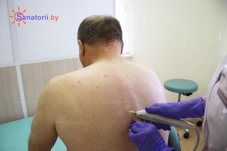 Санатории Белоруссии Беларуси - санаторий Спутник - Карбокситерапия (газовые уколы)