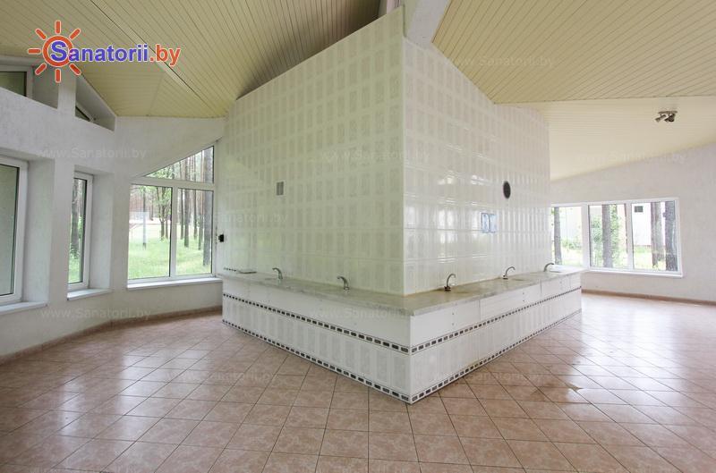 Санатории Белоруссии Беларуси - оздоровительный центр Талька - Бювет минеральной воды