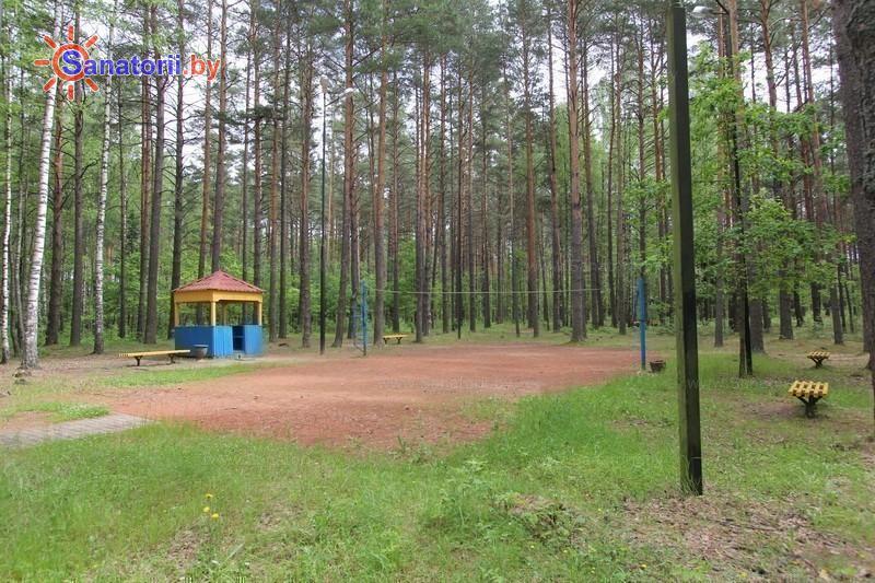 Санатории Белоруссии Беларуси - оздоровительный центр Талька - Спортплощадка
