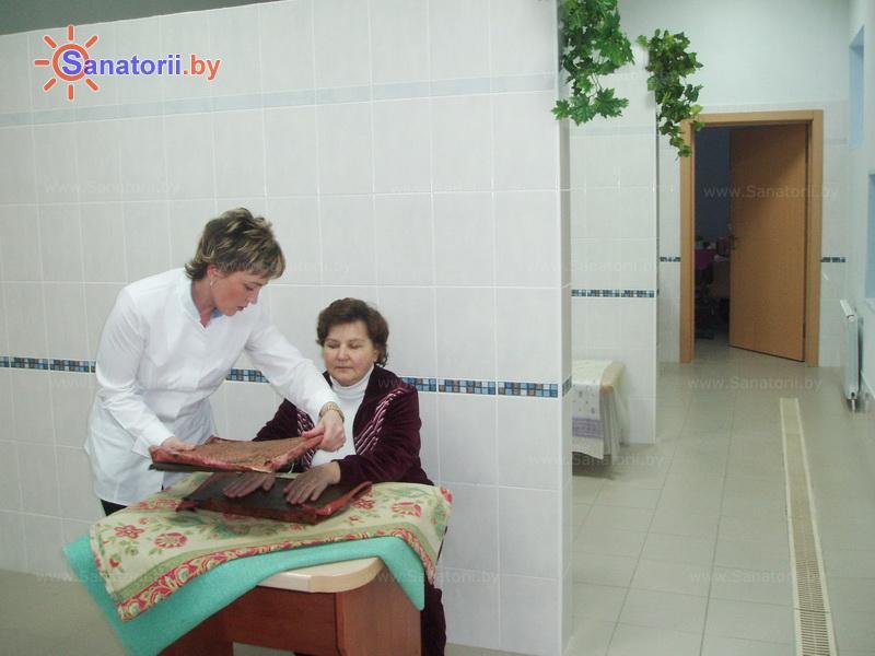 Санатории Белоруссии Беларуси - оздоровительный центр Талька - Озокерито-парафинолечение