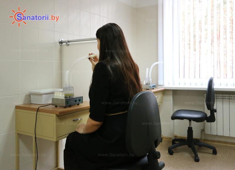 Санатории Белоруссии Беларуси - оздоровительный центр Талька - Ингаляции (аэрозольтерапия)