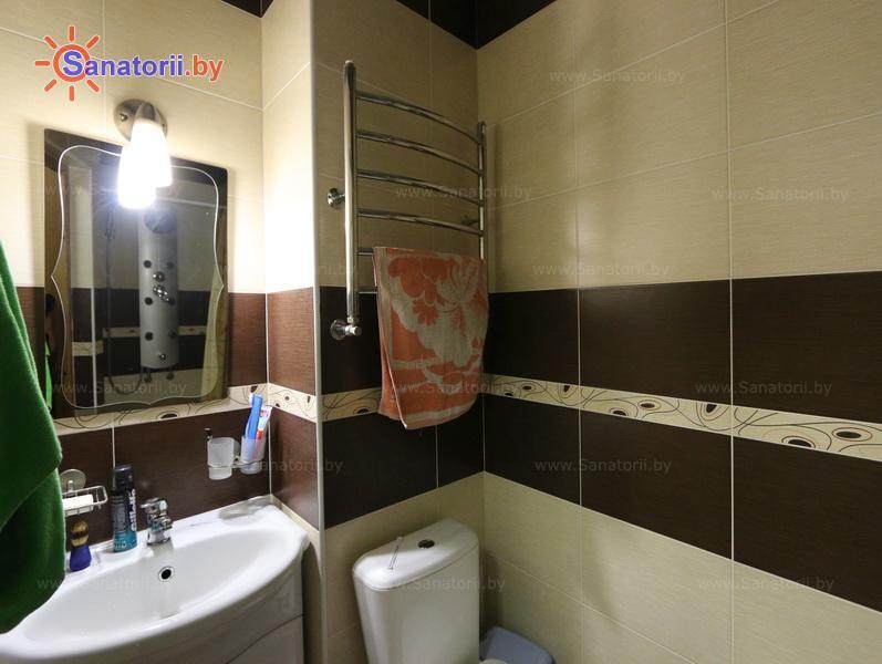 Санатории Белоруссии Беларуси - оздоровительный центр Талька - двухместный двухкомнатный люкс семейный (главный корпус)