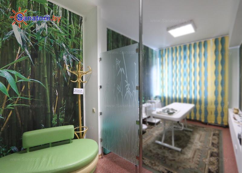 Санатории Белоруссии Беларуси - оздоровительный центр Талька - Стоунтерапия (массаж камнями)
