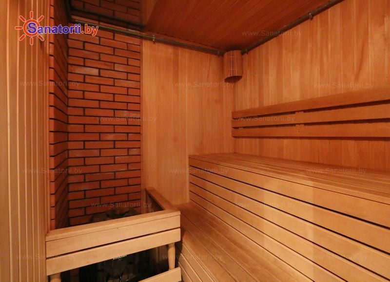 Санатории Белоруссии Беларуси - оздоровительный центр Талька - Сауна финская