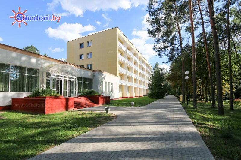Санатории Белоруссии Беларуси - оздоровительный центр Талька - лечебный корпус