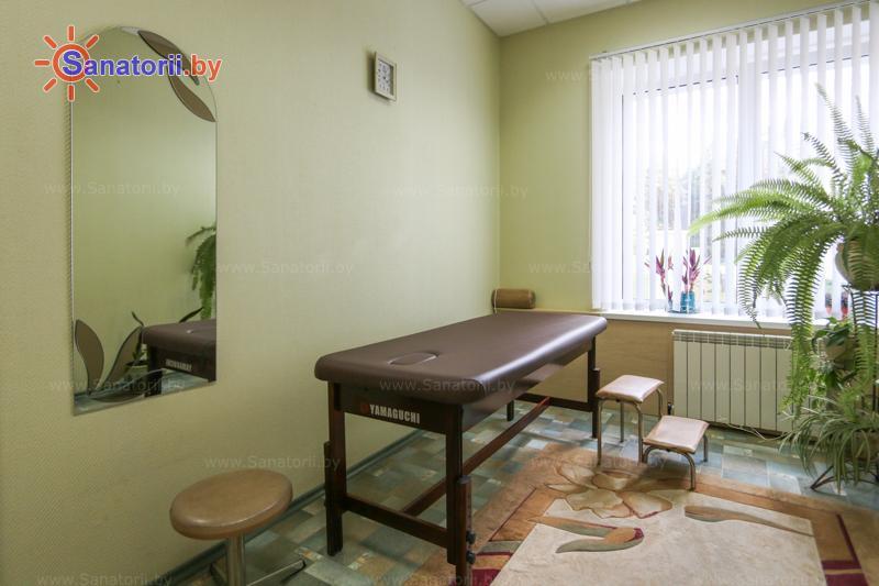 Санатории Белоруссии Беларуси - оздоровительный центр Талька - Массаж ручной