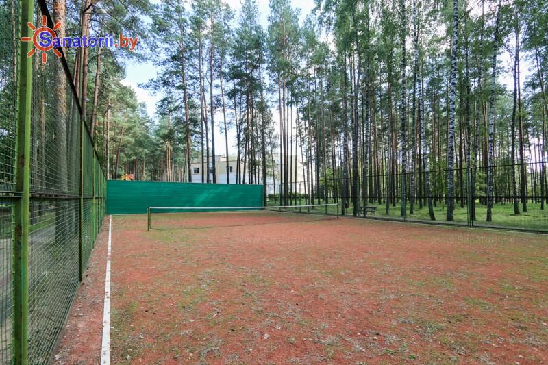Санатории Белоруссии Беларуси - оздоровительный центр Талька - Теннисный корт