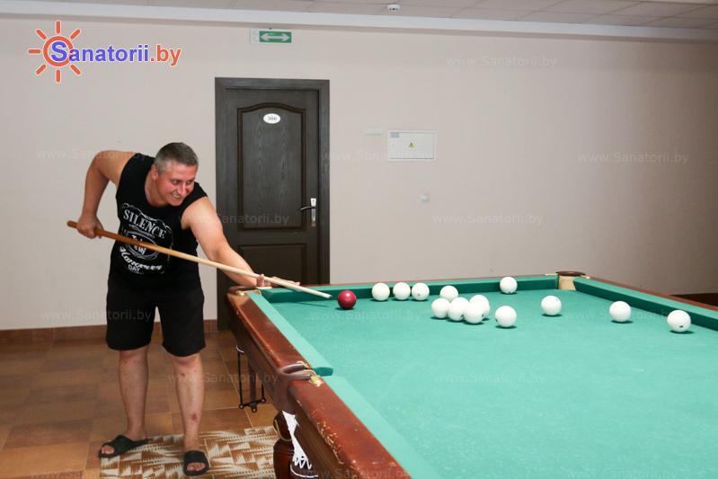 Санатории Белоруссии Беларуси - оздоровительный центр Талька - Бильярд