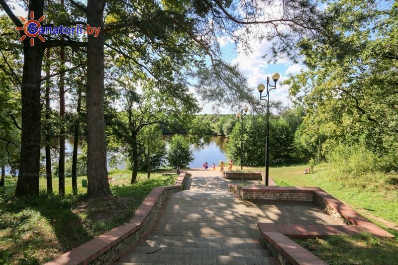 Санатории Белоруссии Беларуси - оздоровительный центр Талька - Водоём