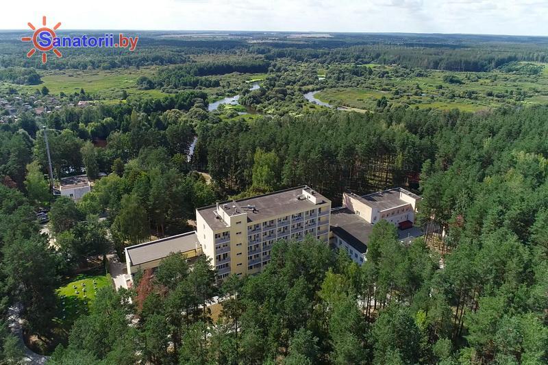 Санатории Белоруссии Беларуси - оздоровительный центр Талька - Территория и природа