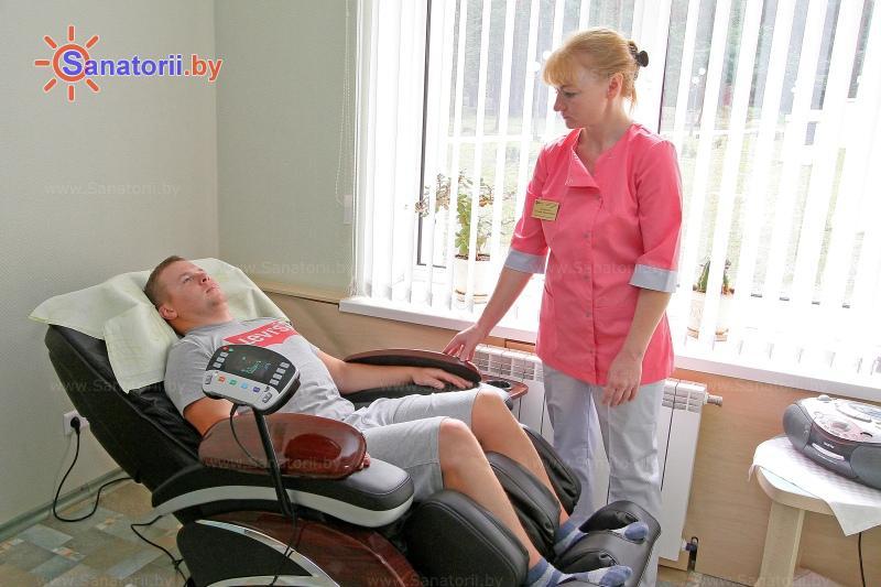 Санатории Белоруссии Беларуси - оздоровительный центр Талька - Массаж аппаратный