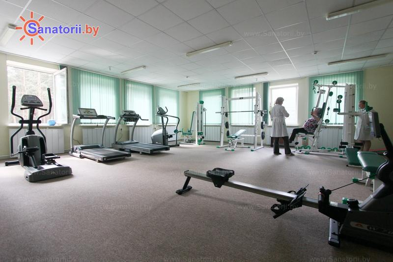 Санатории Белоруссии Беларуси - санаторий Нафтан - Тренажерный зал (механотерапия)