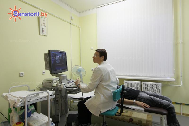 Санатории Белоруссии Беларуси - санаторий Нафтан - Ультразвуковая диагностика