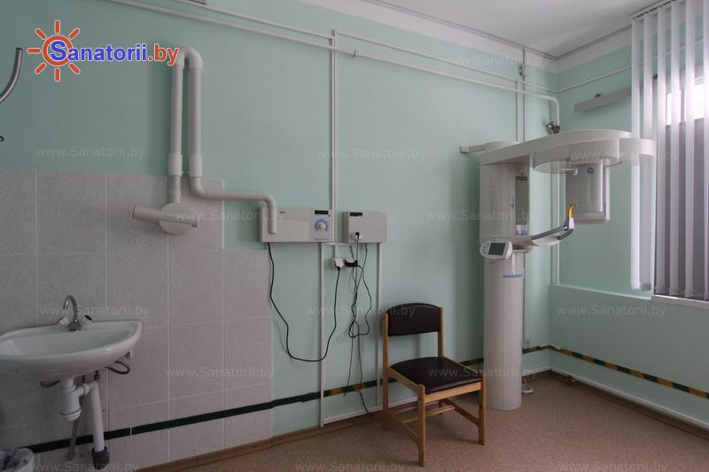 Санатории Белоруссии Беларуси - санаторий Нафтан - Рентгенодиагностика