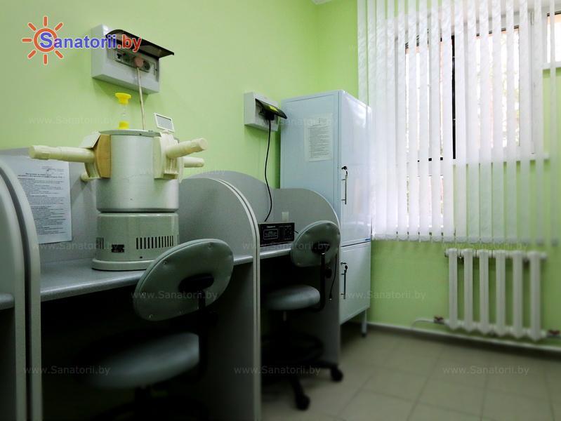 Санатории Белоруссии Беларуси - санаторий Энергетик - Светолечение