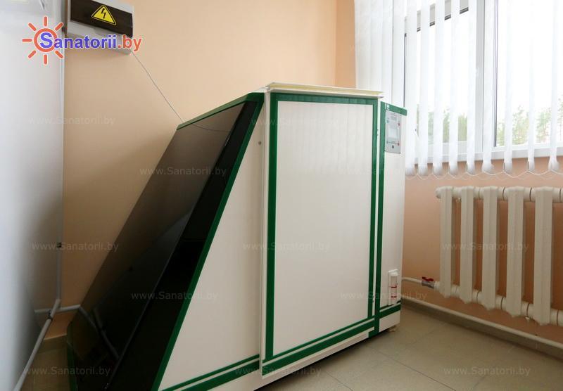 Санатории Белоруссии Беларуси - санаторий Энергетик - Ванна сухая углекислая