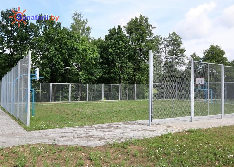 Санатории Белоруссии Беларуси - санаторий Энергетик - Спортплощадка