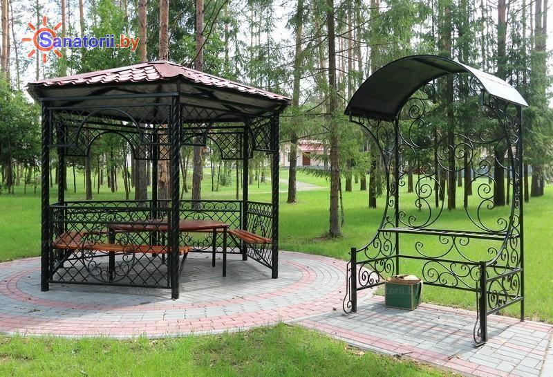 Санатории Белоруссии Беларуси - санаторий Энергетик - Площадка для шашлыков