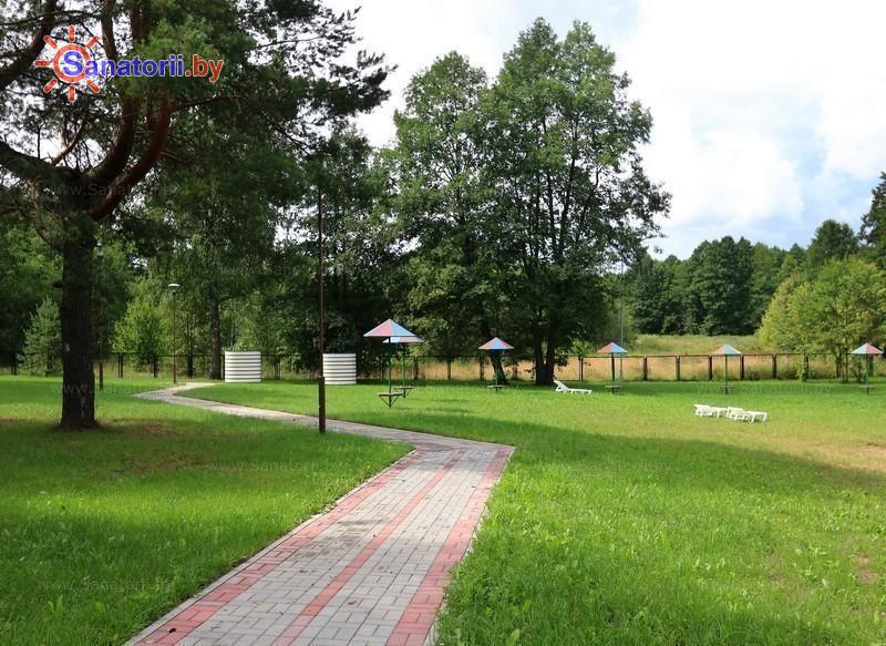 Санатории Белоруссии Беларуси - санаторий Энергетик - Пляж