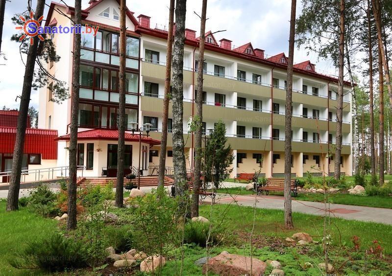 Санатории Белоруссии Беларуси - санаторий Энергетик - главный корпус