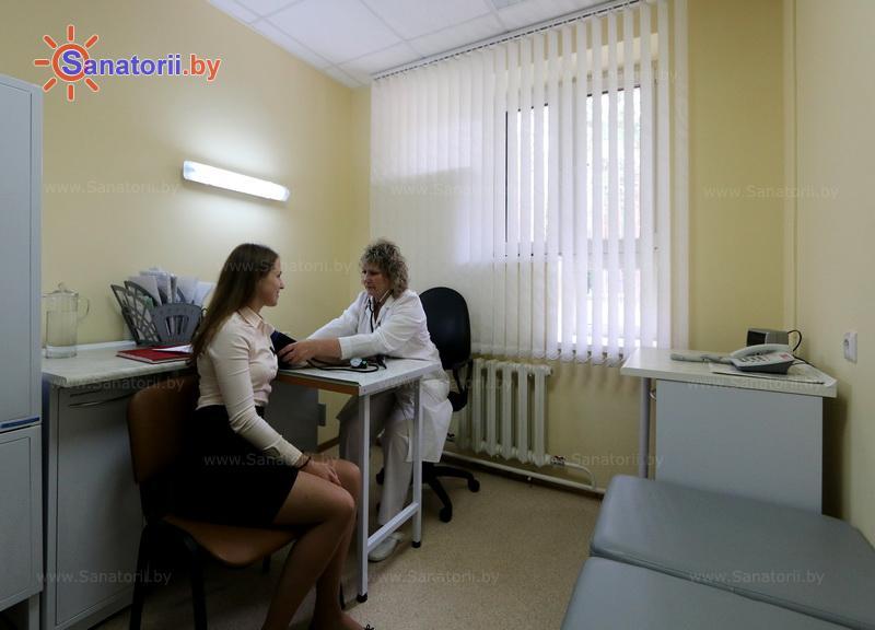 Санатории Белоруссии Беларуси - санаторий Энергетик - Процедурный кабинет