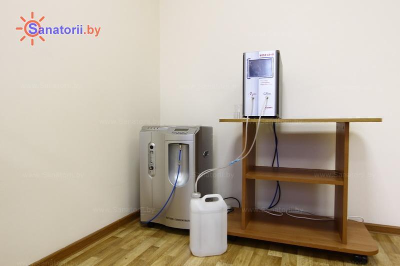 Санатории Белоруссии Беларуси - санаторий Приозерный - Озонотерапия