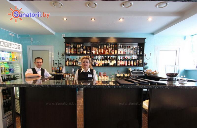 Санатории Белоруссии Беларуси - санаторий Приозерный - Кафе