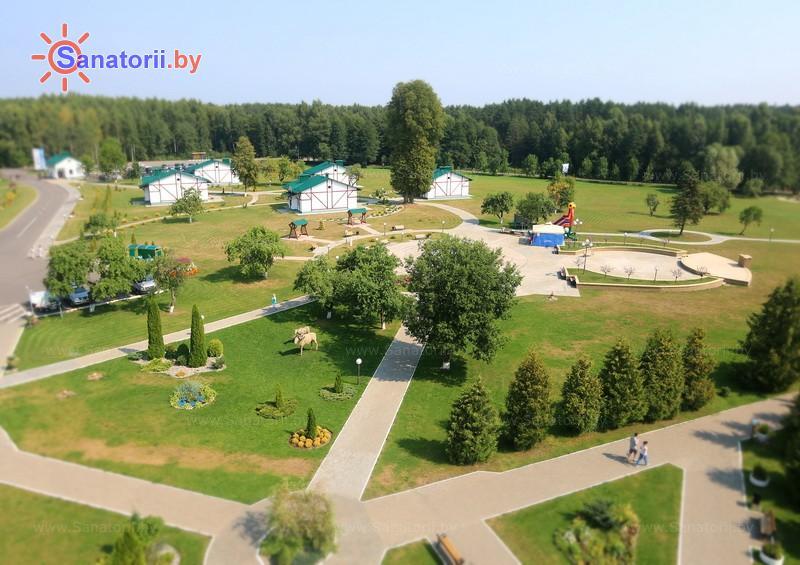 Санатории Белоруссии Беларуси - санаторий Приозерный - Территория и природа