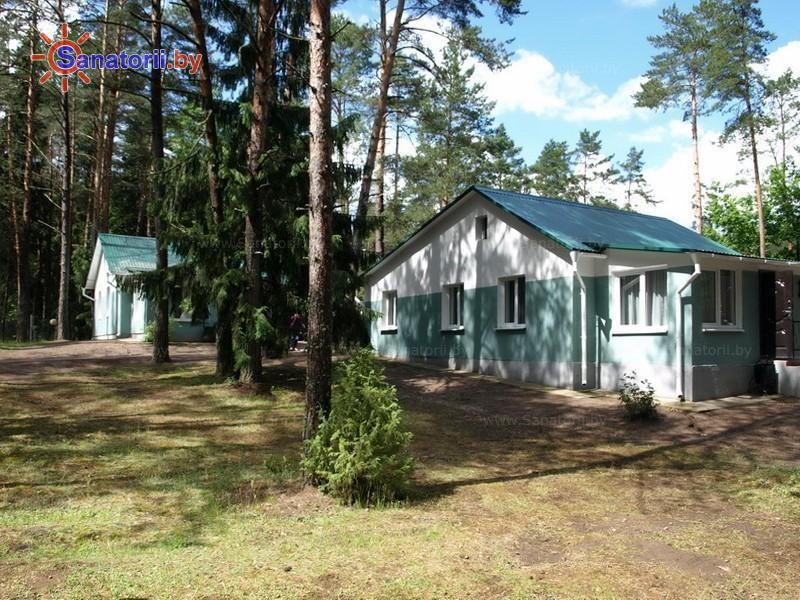 Санатории Белоруссии Беларуси - санаторий Приозерный - лесной домик