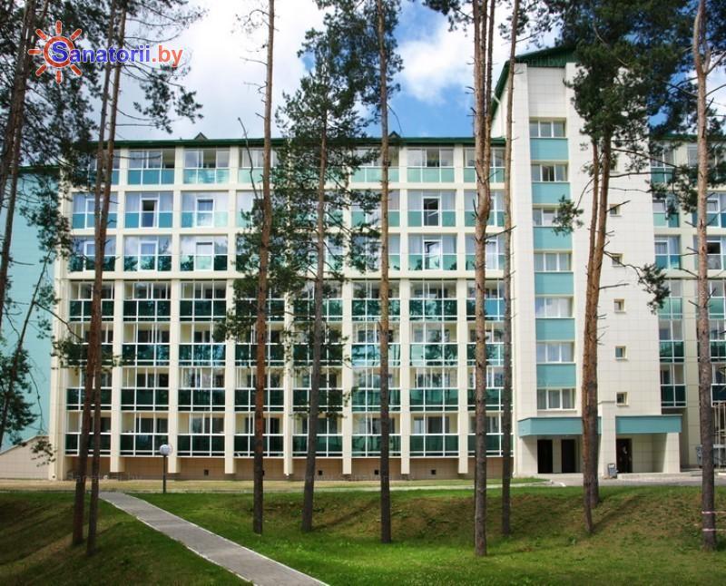 Санатории Белоруссии Беларуси - санаторий Приозерный - корпус Лазурный