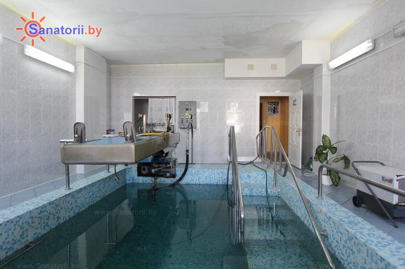 Санатории Белоруссии Беларуси - санаторий Чаборок - Вытяжение позвоночника подводное