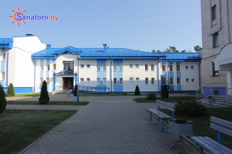 Санатории Белоруссии Беларуси - санаторий Чаборок - спальный корпус №3