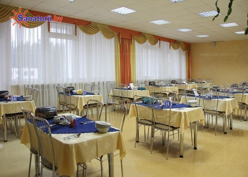 Санатории Белоруссии Беларуси - санаторий Чаборок - Столовая