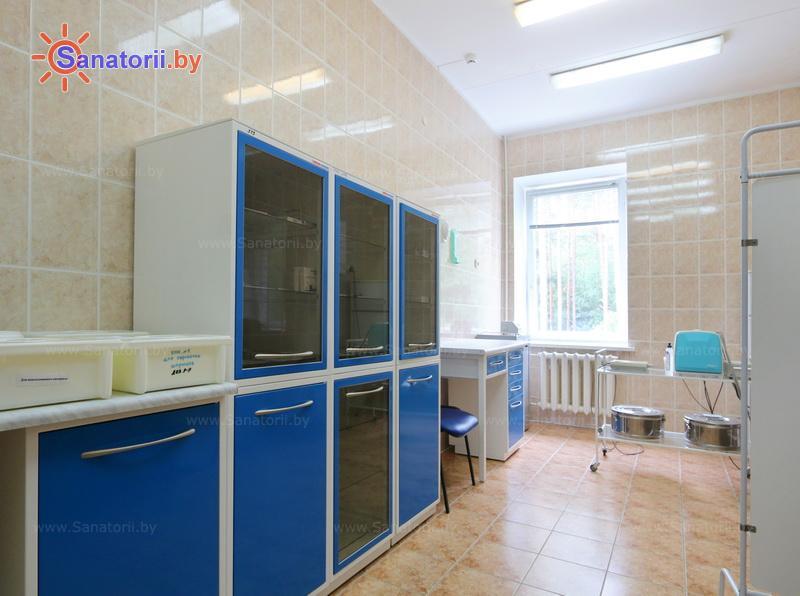 Санатории Белоруссии Беларуси - санаторий Чаборок - Процедурный кабинет