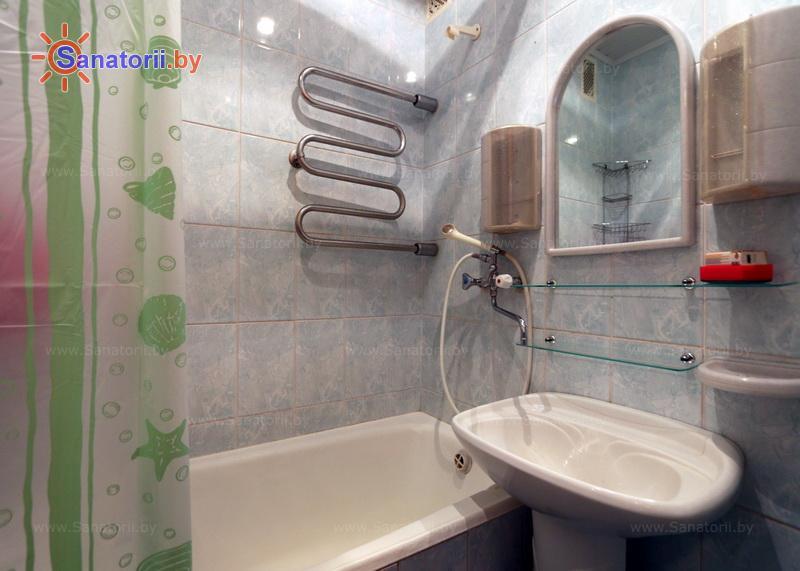 Санатории Белоруссии Беларуси - санаторий Чаборок - двухместный двухкомнатный luxe (спальные корпуса № 5-7)