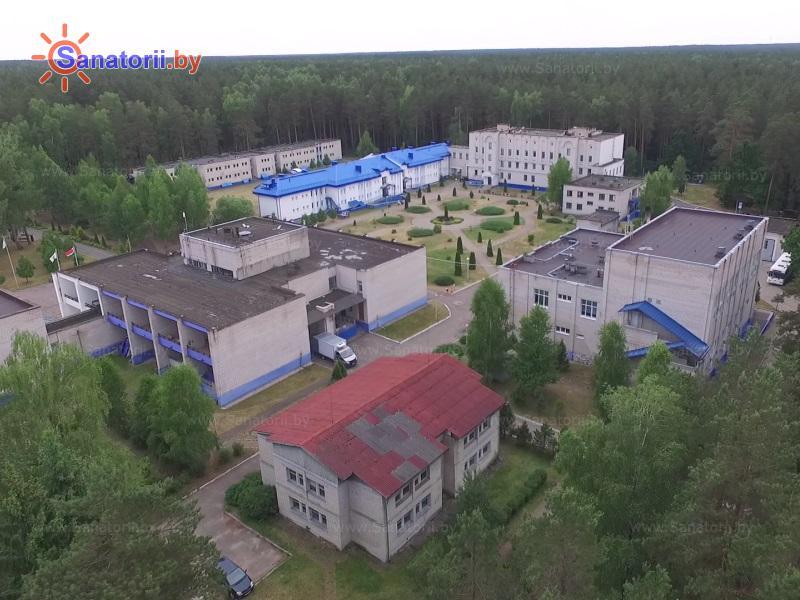 Санатории Белоруссии Беларуси - санаторий Чаборок - Территория и природа