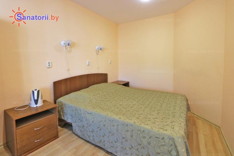 Санатории Белоруссии Беларуси - санаторий Чаборок - двухместный однокомнатный junior Suite (спальные корпуса № 5-7)