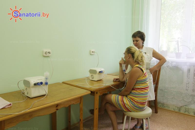 Санатории Белоруссии Беларуси - санаторий Шинник - Ингаляции (аэрозольтерапия)