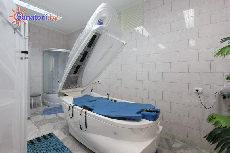 Санатории Белоруссии Беларуси - санаторий Шинник - Реабилитационная капсула (СПА-капсула)