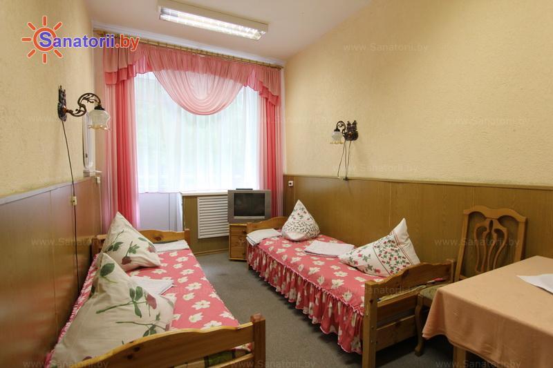Санатории Белоруссии Беларуси - санаторий Шинник - двухместный однокомнатный (спальный корпус)