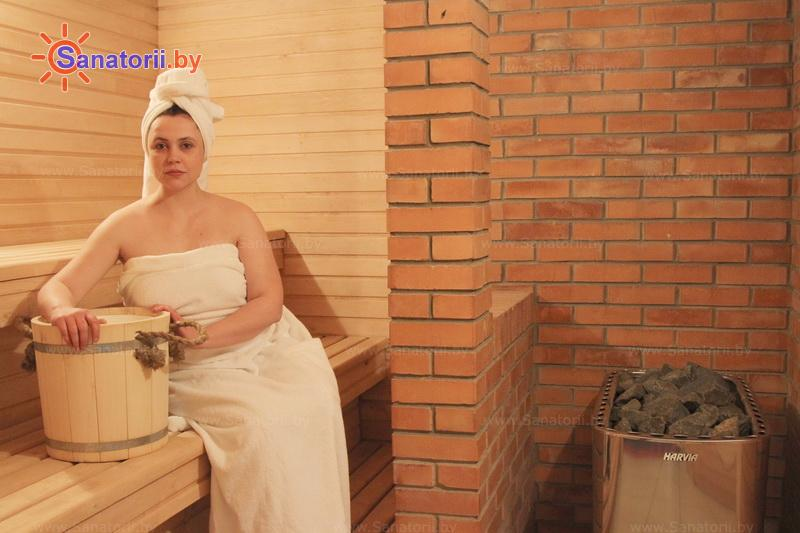 Санатории Белоруссии Беларуси - санаторий Шинник - Сауна финская