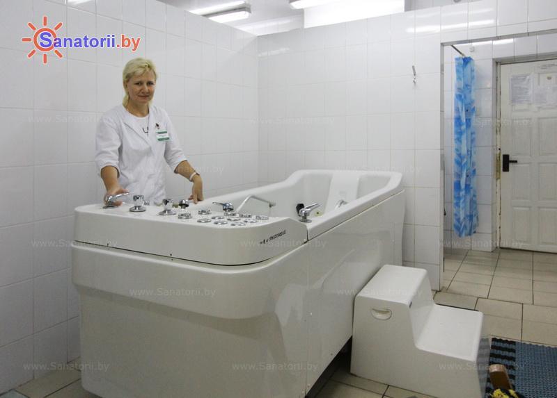 Санатории Белоруссии Беларуси - санаторий Шинник - Душ-массаж подводный